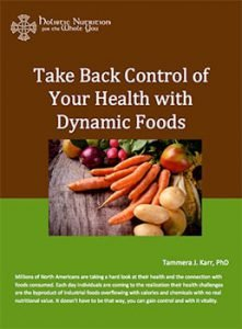 Take Back Control of Your Health With Dynamic Foods